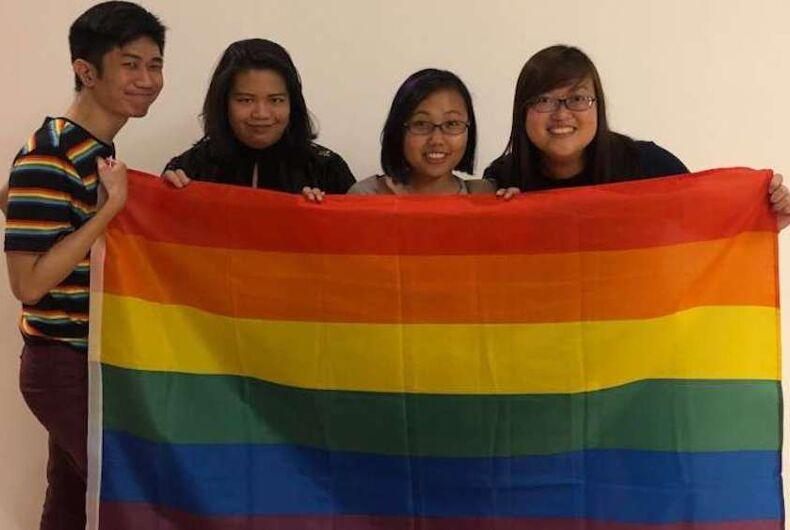 Troye Sivan, rainbow flag, concert, singapore, censorship
