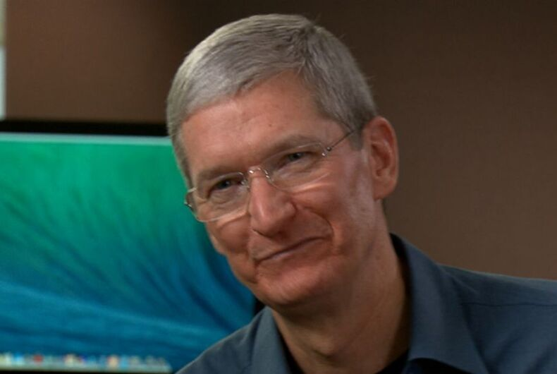 Apple CEO Tim Cook mentions Stonewall and self-censorship at Stanford graduation