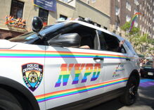 "Police groups are banned from participating in New York City Pride ""effective immediately"""