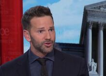 A drag queen confronted Aaron Schock at karaoke night. Here's what happened.