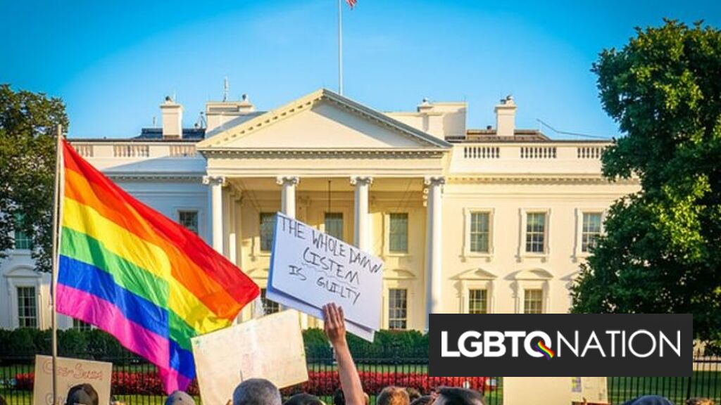 The White House asks people to choose their pronouns now on website contact form