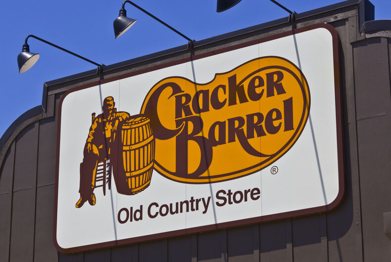 Cracker Barrel, Grayson Fritts, anti-gay, anti-LGBT, anti-LGBTQ, Tennessee, All Scripture Baptist Church