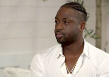 NBA star Dwyane Wade says it's 'my job as a father' to support his son at Pride