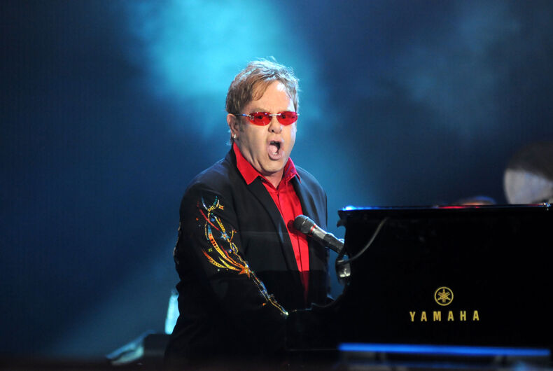 Elton John, Vladimir Putin