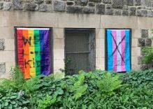 A church is getting sweet revenge against vandals who defaced their pride flags