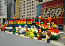 That time LEGO hosted the world's smallest Pride parade for children