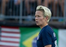 Trump was so bothered by out athlete Megan Rapinoe's diss that he took to Twitter