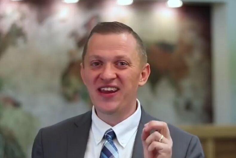 Pastor Patrick Boyle