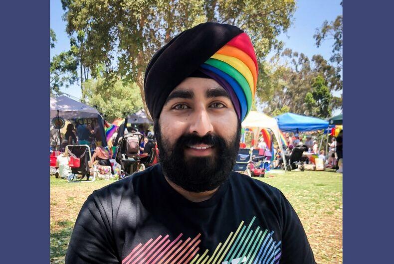 Kohli in his turban