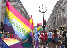Pride in Pictures: London only closes one of their busiest streets once a year & it's for Pride