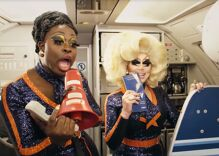 JetBlue just hired two hilarious 'Drag Race' queens to read their customers before takeoff