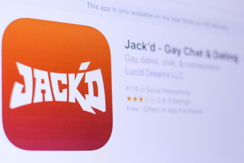 Gay dating app Scruff buys competitor Jack'd for undisclosed amount