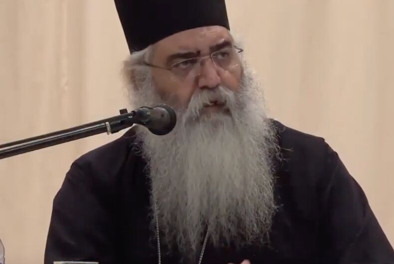 The Most Reverend Metropolitan Neophytos (Masouras) of Morfou of the Church of Cyprus