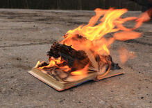 First they burn the books. Then they kill people. History has shown us this repeatedly.