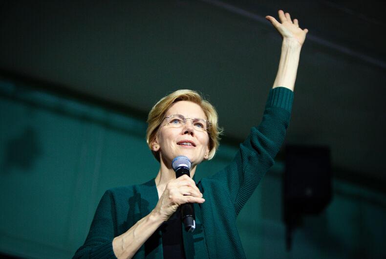 MARCH 15, 2019: Democratic 2020 U.S. presidential candidate Elizabeth Warren Campaigns in New Hampshire.