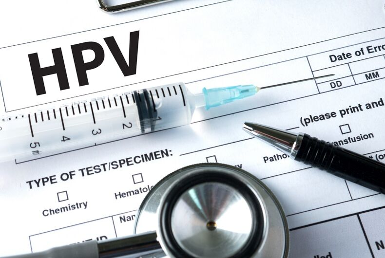 HPV and medical objects