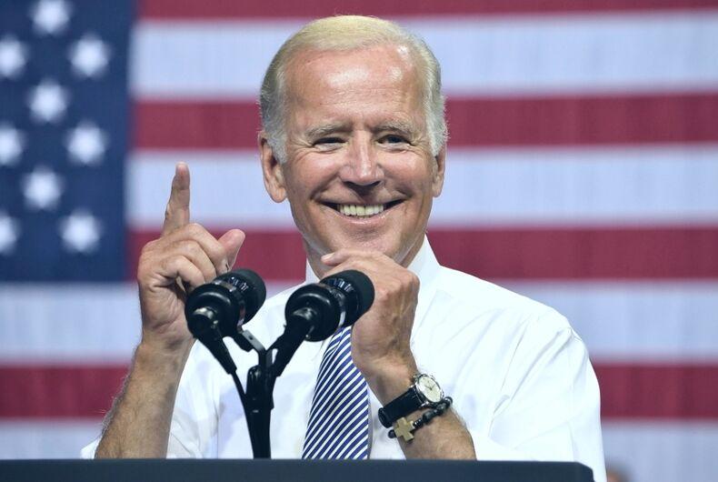 Joe Biden, homophobia