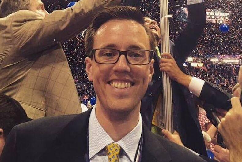 Judd Deere, Trump, gay