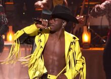 Lil Nas X is the first out gay Black person to win a Country Music Award
