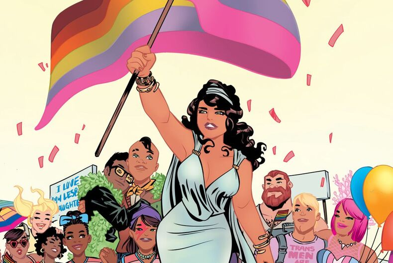 Love is Love, graphic novel, Irving High School