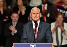 Mike Pence speaks at church event where bishop delivers vicious anti-LGBTQ sermon