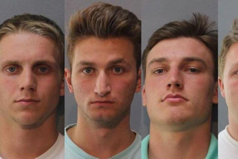 Tyler Curtiss, Matthew Lipp, Joshua Shaffer and Seth Taylor