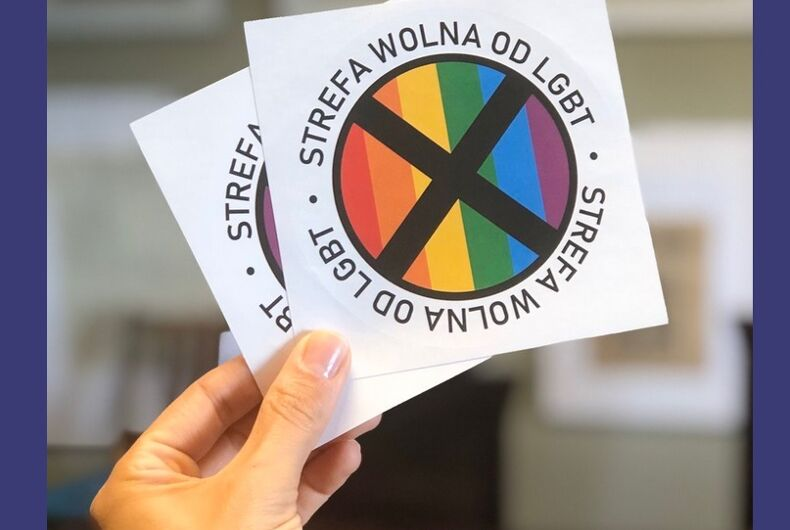 The Polish stickers