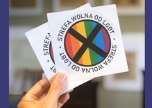 'LGBT-FREE ZONE' stickers for businesses will be distributed in Poland