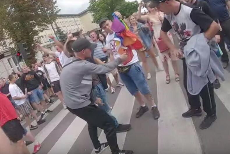 Poland, Pride march, Bialystok, anti-LGBTQ