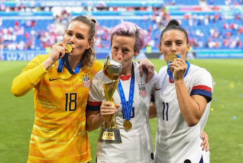 The three gay members of the Women's National Team