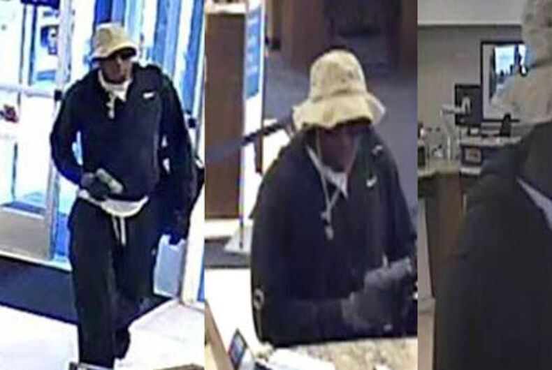 Andre Lafayette Holmes, San Diego bank robberies, Pride threats
