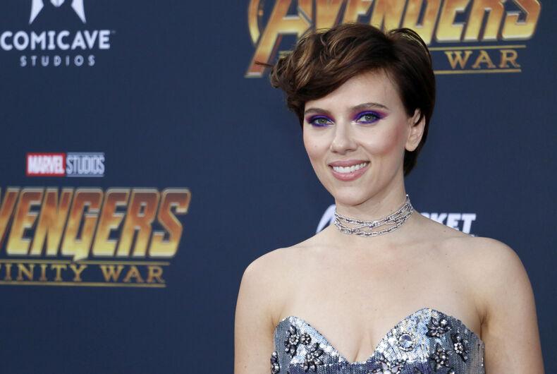 Scarlett Johansson, transgender, acting roles