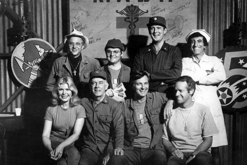 The 1977 cast of M*A*S*H