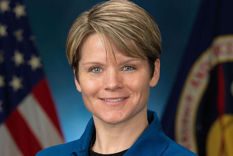 Anne C. McClain, astronaut, space crime, lesbian