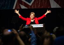 Last night's Dem debate was such a hot mess Elizabeth Warren won & she wasn't on stage