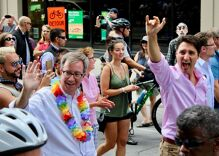 Gay mayor of Canada's capital slurred outside his home so his neighbors would see