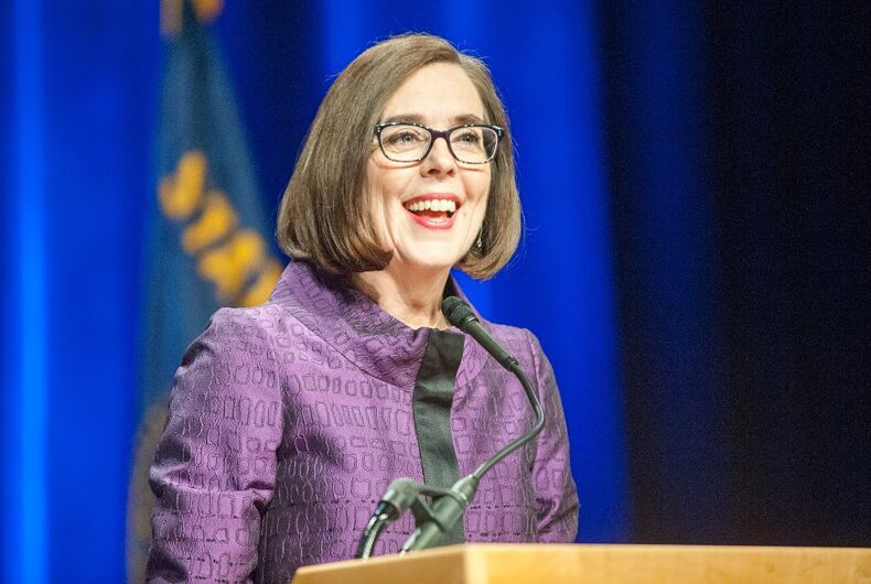 Governor Kate Brown in 2016