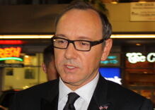 Kevin Spacey crawls back into the spotlight with a public poetry reading