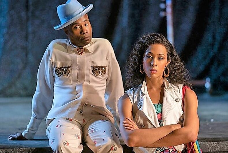 MJ Rodriguez as Blanca and Billy Porter as Pray Tell on Pose