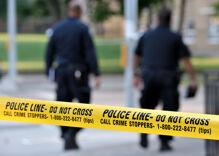Knife waving man screaming antigay & racist slurs in barbershop shot by Palm Springs police