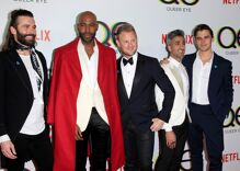 Did Old Navy force some employees out of sight when 'Queer Eye' came to film in a store?