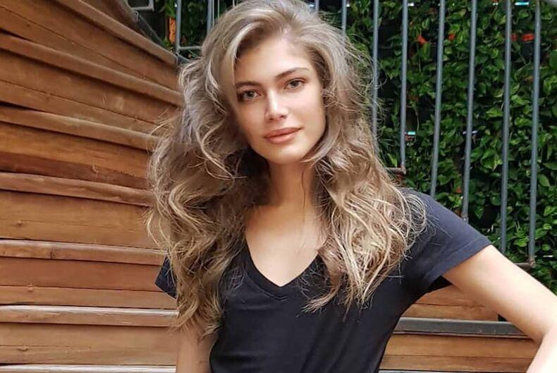 Valentina Sampaio, Victoria's Secret, transgender model