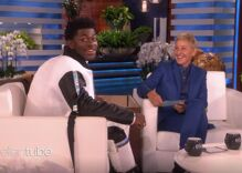 Ellen talks coming out with Lil Nas X… & tells him he's 'very good-looking'