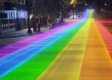 Will San Francisco change the MUNI map to rainbow colors?