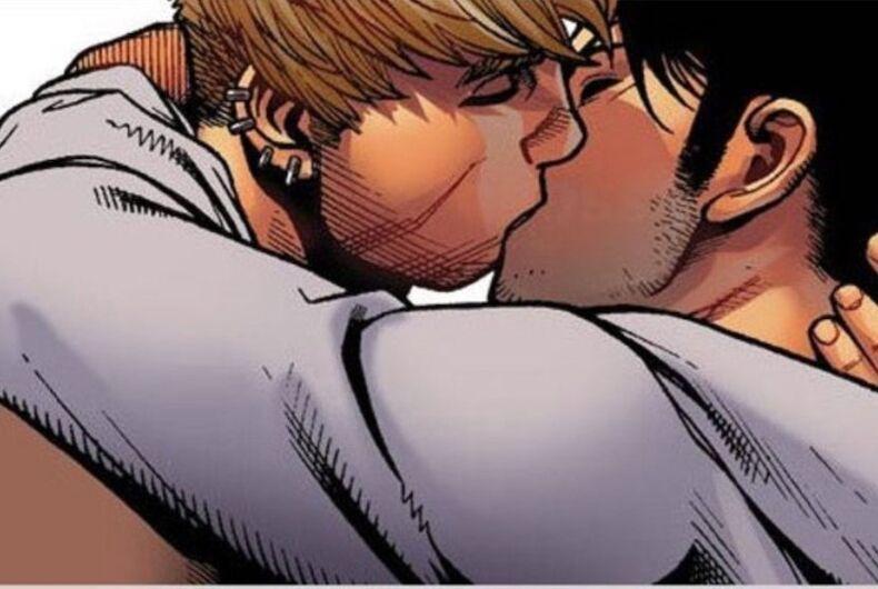 Rio International Book Biennial, Marvel Avengers, comic book, gay kiss, banned, Rio de Janeiro, Brazil, Hulkling and Wiccan