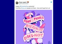 Bisexual people lit up Twitter for the 20th Bi Visibility Day