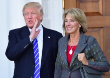 The Trump administration wants to cut education funding to transgender-inclusive states
