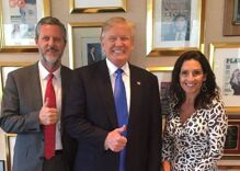 Jerry Falwell Jr. resigned from Liberty U. Then withdrew his resignation. Then resigned again.