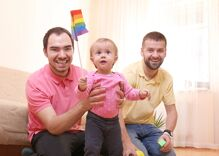 """You don't have to be the perfect """"gay parent"""" right now. We're all doing our best."""