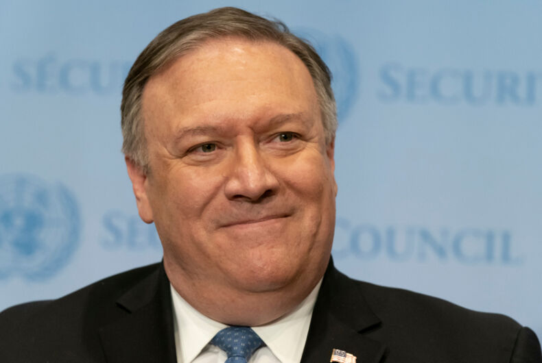 Mike Pompeo, anti-LGBTQ, anti-gay, human rights